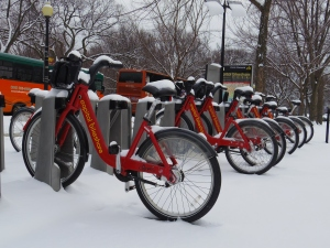 Frozen Capitol Bikeshare
